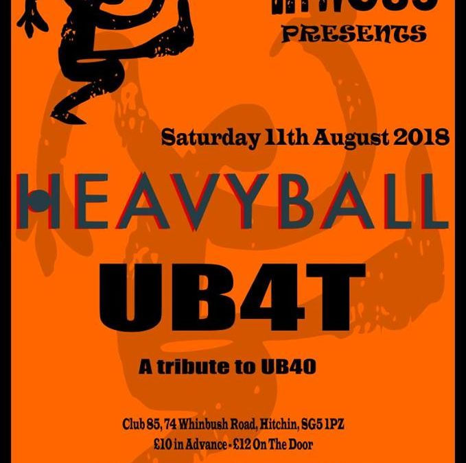 Rhythms of the World presents… HEAVYBALL + UB4T!